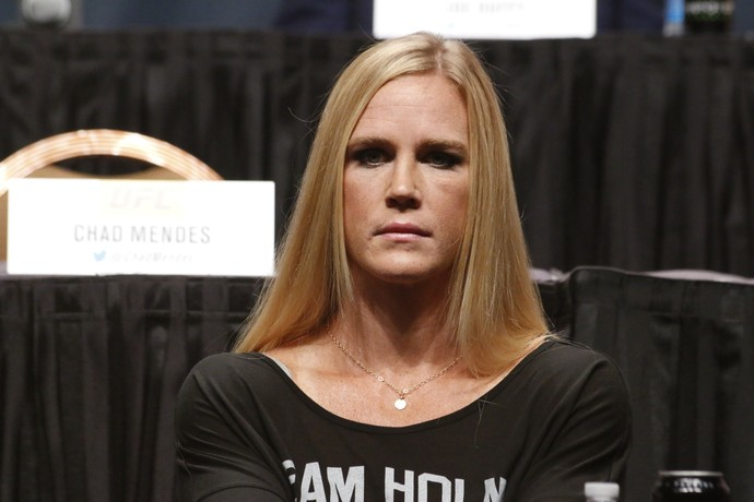 Holly Holm Coletiva Go Big UFC (Foto: Evelyn Rodrigues)