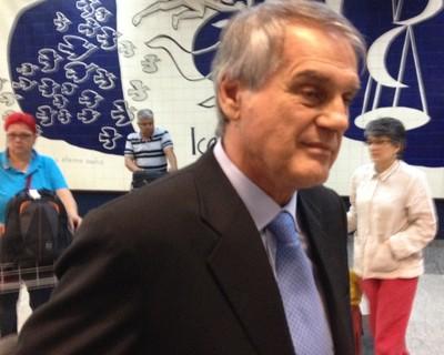 Vilson Ribeiro de Andrade, presidente do Coritiba (Foto: Gabriel Hamilko)