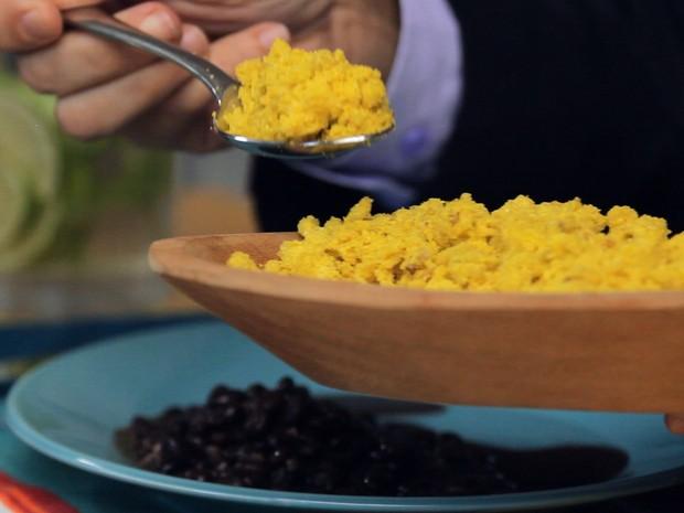 Farofa de ovos com ghee da Bela Gil (Foto: Divulgao)