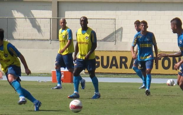 Seedorf Botafogo treino (Foto: Fred Huber)