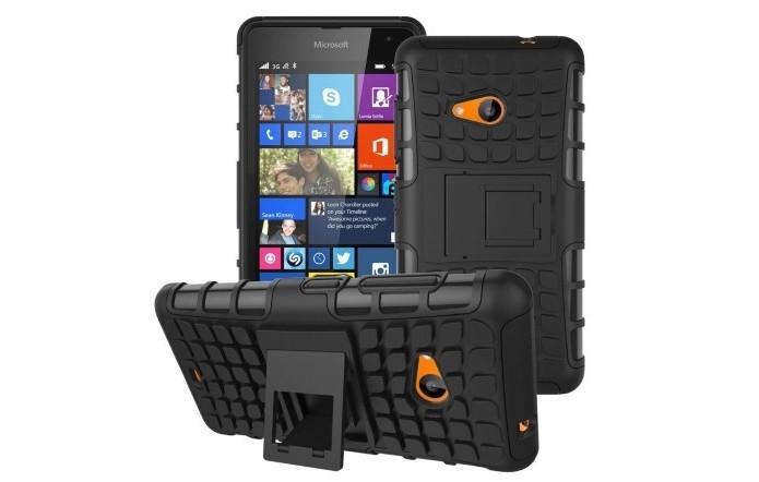 Capa Armadura 2x1 para Microsoft Lumia 535 (Foto: Divulgação/ OEM)