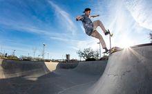 Skate na Van