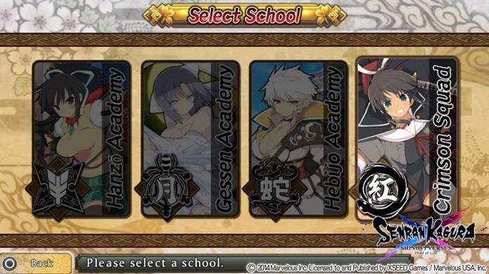 Confira como desbloquear o Crimson Squad de Homura em Senran Kagura Shinovi Versus (Foto: Reprodução: Rafael Monteiro)