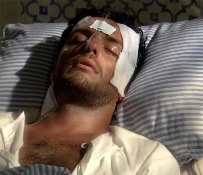 Raj não morreu, gente!!! (Foto: TV Globo)