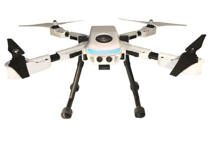 PlexiDrone é robô aéreo para carregar a sua GoPro (Foto: Divulgação)