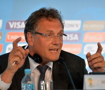 Coletiva FIFA Copa do Mundo, Jerome Valcke (Foto: André Durão)