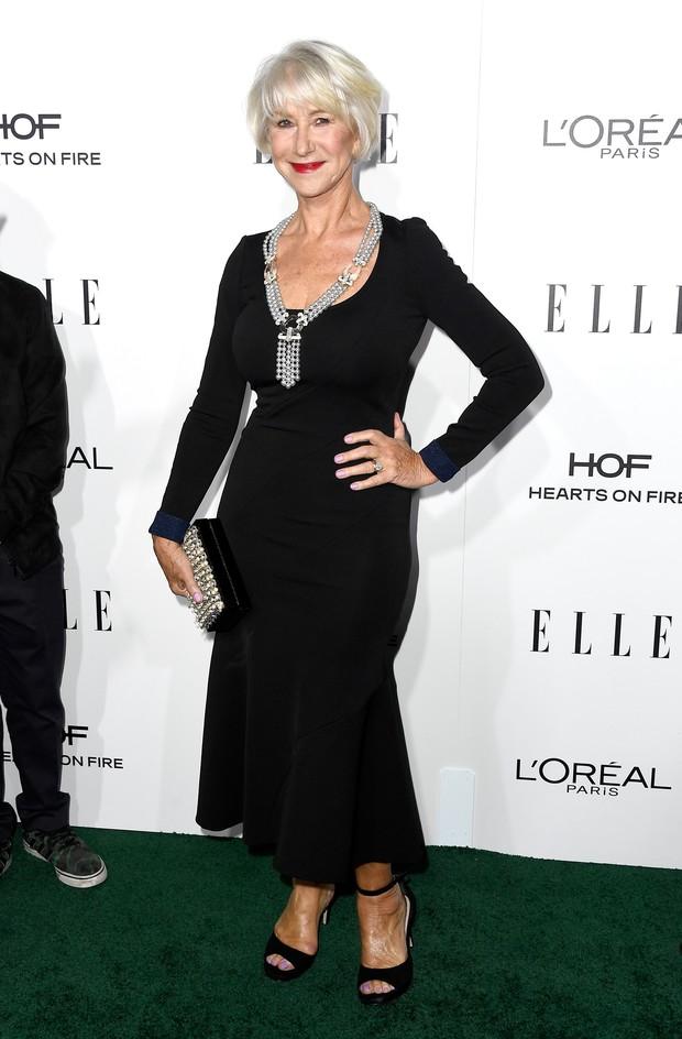 Helen Mirren em premiação em Los Angeles, nos Estados Unidos (Foto: Frazer Harrison/ Getty Images/ AFP)