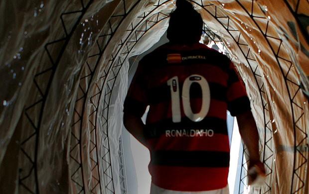ronaldinho gaucho flamengo (Foto: Agência Estado)