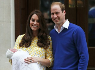 Kate Middleton e príncipe William (Foto: Reuters)
