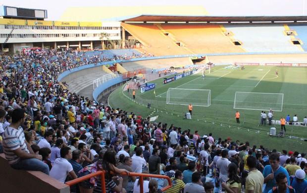 Treino Seleção Brasil Goiânia (Foto: Fabricio Marques / Globoesporte.com)