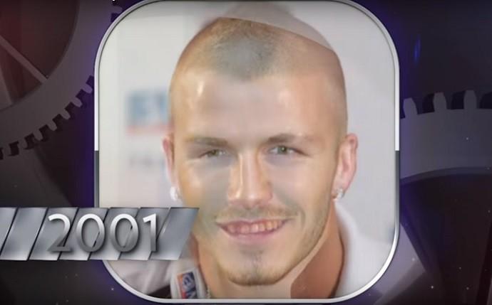 """BLOG: Eleito mais sexy, Beckham tem vídeo com transformação em 18 anos e """"defeito"""""""