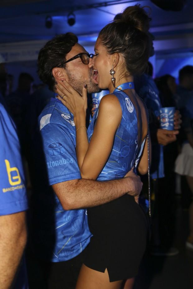 Emilio Orciollo Neto e a namorada (Foto  Felipe Panfili   Camarote BOA) 5a46adc44e