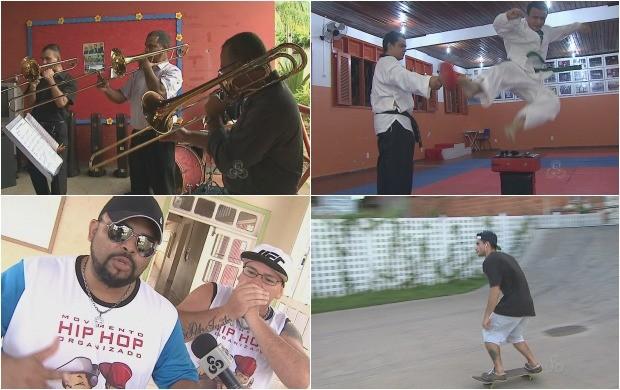 Música, dança e esportes foram destaque no Amazônia em Revista do Acre (Foto: Amazônia em Revista)