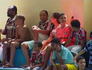 Crianças; brasileiro de Showbol (Foto: Reprodução SporTV)