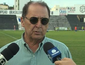 Paulo Gayoso, Treze (Foto: Reprodução / TV Paraíba)