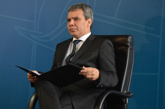 Wellington César Lima e Silva assume Ministério da Justiça (Foto: Valter Campanato/ABr)
