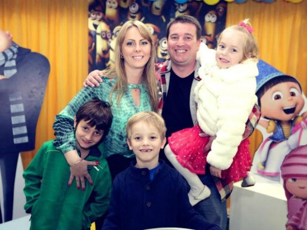 Guilherme foi morar com o pai e a nova família em 2012 (Foto: Arquivo Pessoal)