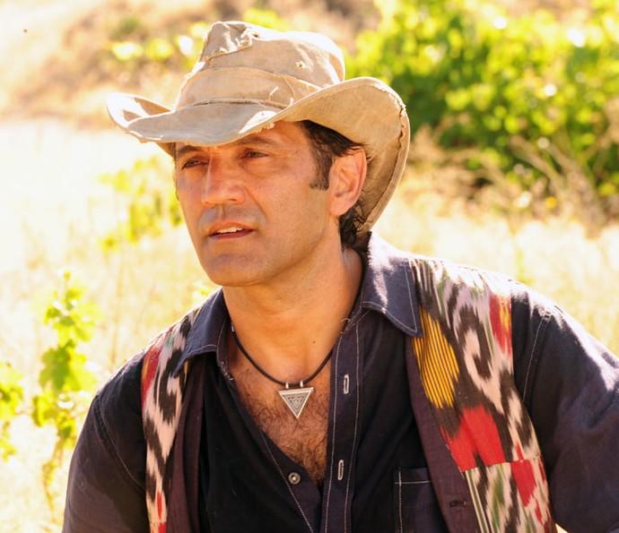 Domingos Montagner interpretou Zyah na novela 'Salve Jorge' (Foto: João Miguel Júnior/Globo)