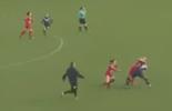 Jogadoras saem no tapa em partida feminina na França; vídeo (Reprodução / Youtube)