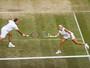 Soares e Demoliner caem na semifinal de duplas mistas em Wimbledon