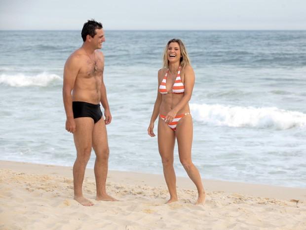 Olha a boa forma da dupla!  (Foto: Salve Jorge/TV Globo)