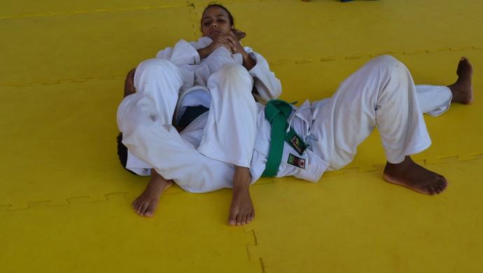 Judoca, Bruna luta para perder peso e continuar na seleção brasileira (Foto: Magda Oliveira)