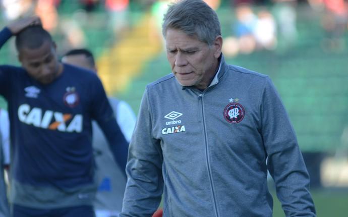 figueirense x atlético-pr paulo autuori (Foto: Marco Oliveira/Atlético-PR)