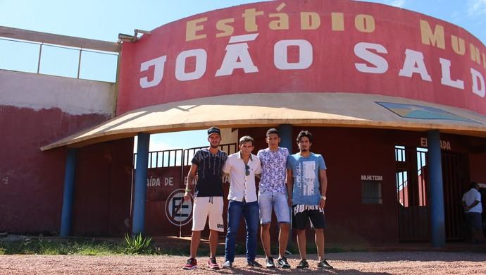 Clube divulgou contratações dos novos jogadores nesta terça-feira, 10 (Foto: Júnior Freitas/GloboEsporte.com)
