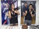 Zezé Di Camargo ganha (outra) festa surpresa em camarim de show em BH