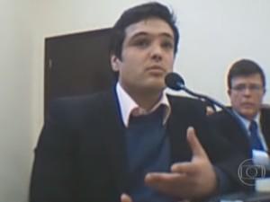 Ex-deputado do Paraná,  Luiz Fernando ribas Carli Filho (Foto: Reprodução/Fantástico)