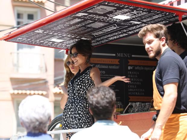 Maria Clara surpreende a todos! (Foto: Carol Caminha/ Gshow)