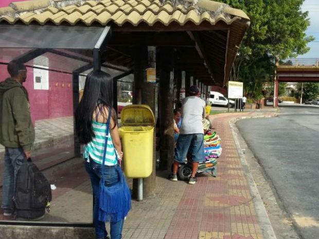 Motoristas de ônibus de São Roque entram em greve (Foto: Divulgação / São Roque Notícias)