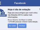 Eleições brasileiras foram as mais comentadas da história do Facebook