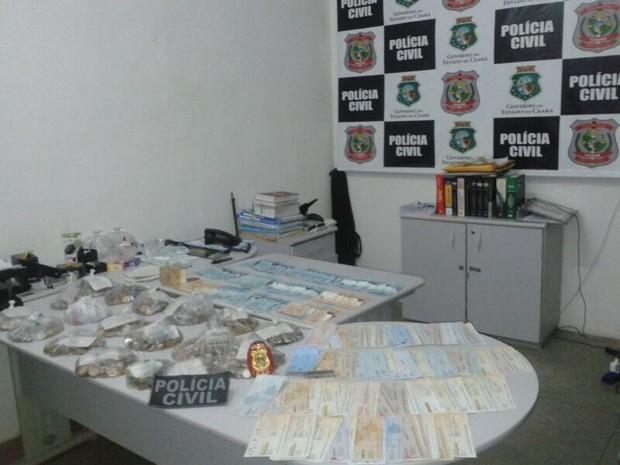 Polícia desarticula esquema do jogo do bicho em Brejo Santo, no Ceará (Foto: Foto: Julio Agrelli)