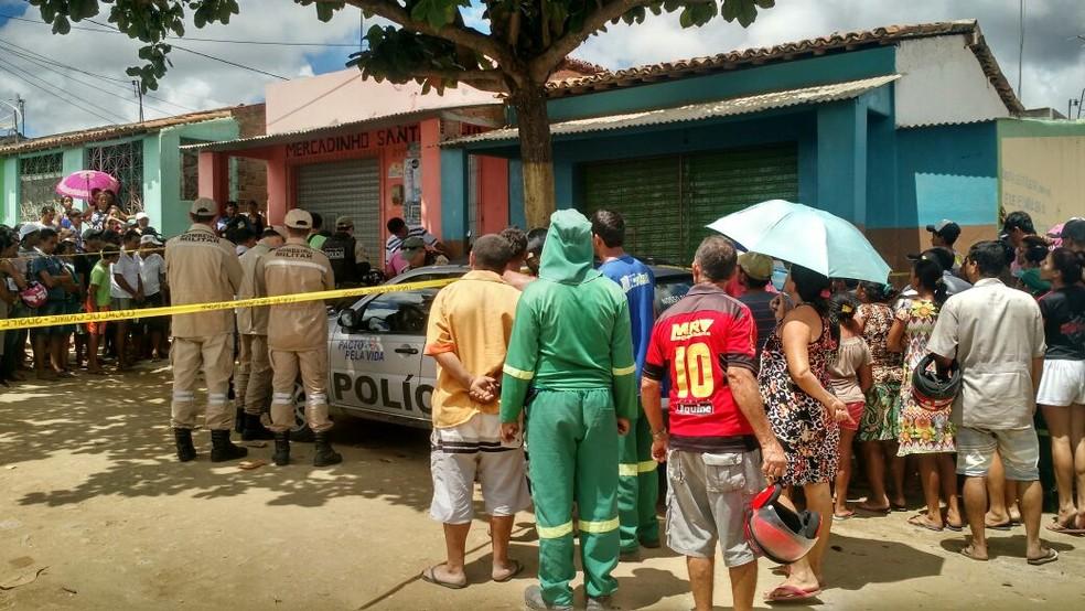 Crime aconteceu na cidade e aumenta estatísticas da violência  (Foto: Renato Luiz/Divulgação )