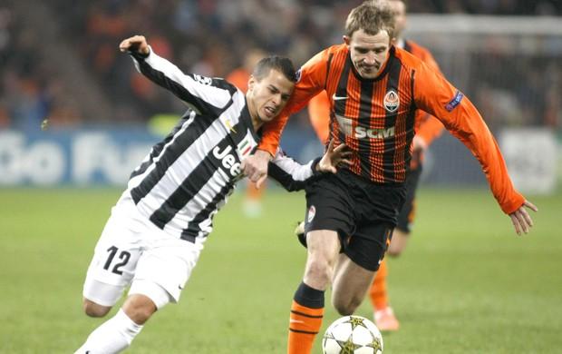Kucher e Giovinco, Shakhtar Donetsk e Juventus (Foto: Agência Reuters)