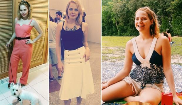 Na 'vida real', Letcia jura que no  ligada em moda. Apesar disso,  dona de um estilo romntico superfofo. (Foto: Reproduo / Instagram)