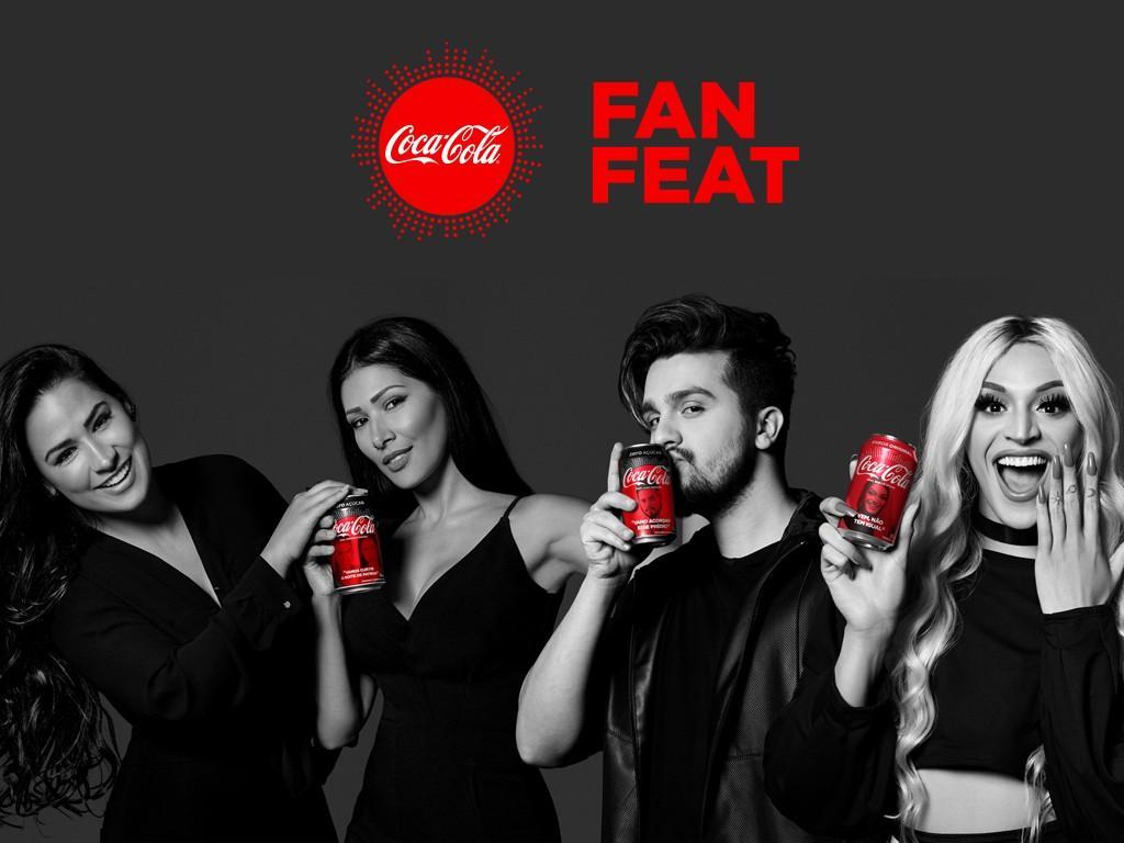 Simone & Simaria, Pabllo Vittar e Luan Santana vo cantar o hit 'Hasta La Vista' no show Coca-Cola Fan Feat (Foto: Divulgao/Multishow)