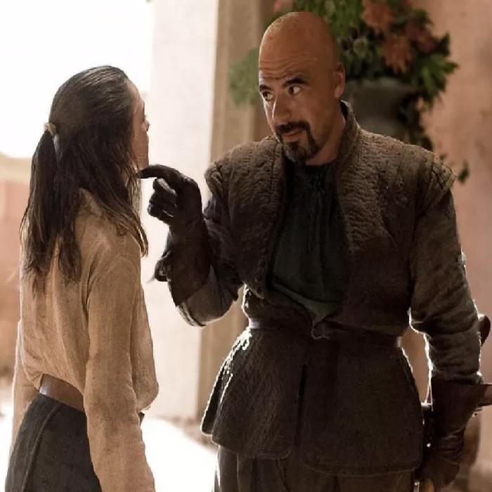 Syrio Forel, que treinou Arya na primeira temporada de 'Game of Thrones' (Foto: Reprodução/Reddit)