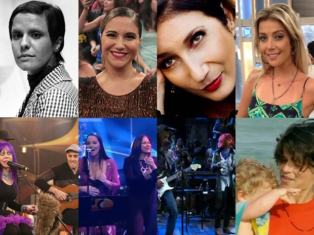 Tal mães, tal filhos! Mães e filhos que dividem o talento para a música (Foto: Gshow)