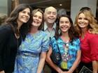 Helena Ranaldi e Rita Guedes vão ao teatro no Rio