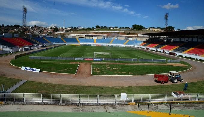 Boa Esporte faz jogo-treino contra equipe de Nepomuceno no Melão, em Varginha (Foto: Assessoria de Imprensa Boa Esporte)