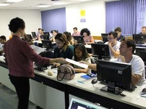 São aproximadamente 20 cursos alunos por turma (Foto: Divulgação/Gawa)
