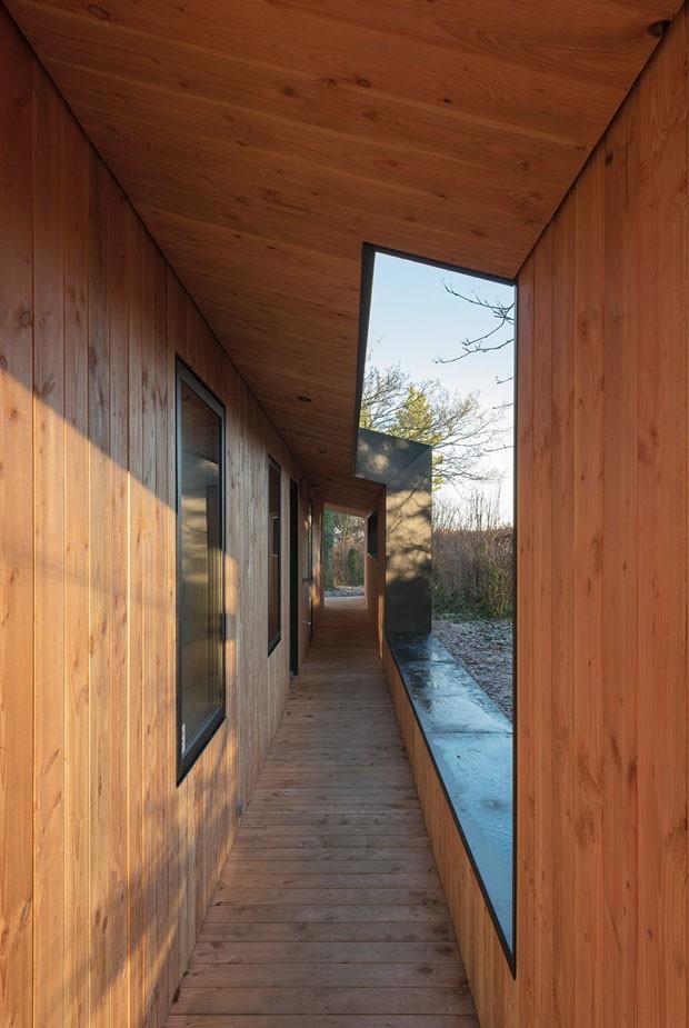 Arquitetura de casa dinamarquesa inspira-se em matrioskas russas