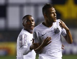 Geuvânio Robinho gol Santos São Paulo