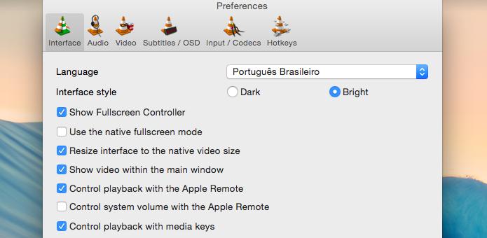 Alterando idioma do aplicativo (Foto: Reprodução/Helito Bijora)