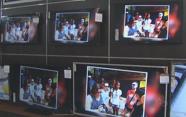 Mês de maio deve atingir recordes de venda de televisores, no AC (Foto: Bom Dia Amazônia)