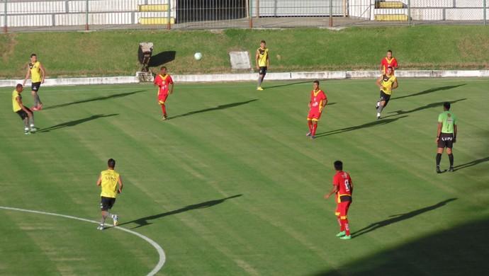 ABC x Globo FC, no Estádio Frasqueirão (Foto: Jocaff Souza/GloboEsporte.com)