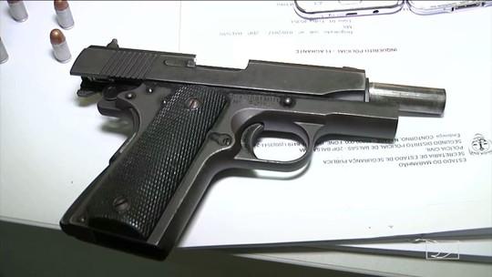 Operação da Polícia Rodoviária Federal apreende armas no Maranhão