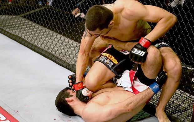 Ramsey Nijem vitória UFC luta Abu Dhabi (Foto: Getty Images)